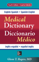 English Spanish Spanish English Medical Dictionary  Fourth Edition  eBook