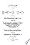History of Sonoma County