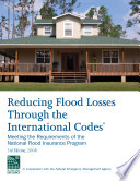 Reducing Flood Losses Through the International Codes; Meeting the Requirements of the National Flood Insurance Program