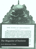 The Magazine of Business