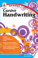 Cursive Handwriting  Grades 3   5