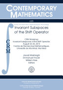 Invariant Subspaces of the Shift Operator