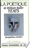 La po  tique de W  B  Yeats
