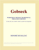 Gobseck  Webster s Chinese Traditional Thesaurus Edition