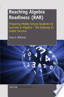Reaching Algebra Readiness  RAR