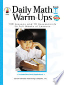 Daily Math Warm Ups  Grade 1