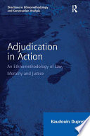 Adjudication In Action
