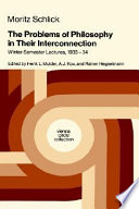The Problems of Philosophy in Their Interconnection