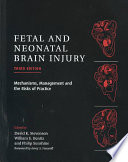 Fetal And Neonatal Brain Injury : from hypoxic or ischemic events....