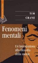 Fenomeni mentali  Un introduzione alla filosofia della mente