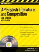 CliffsNotes AP English Literature and Composition with CD ROM