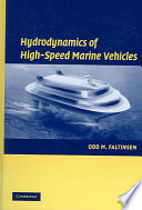 Hydrodynamics of High Speed Marine Vehicles
