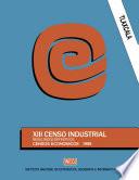 Tlaxcala  XIII Censo Industrial  Resultados definitivos  Censos Econ  micos 1989