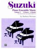 Suzuki Piano Ensemble Music for Piano Duo  Vol 2  Second Piano Accompaniments