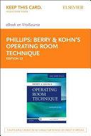 Berry   Kohn s Operating Room Technique