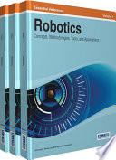 Robotics  Concepts  Methodologies  Tools  and Applications