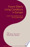 Avenir Des Conditions de Vie Des Européens Âgés