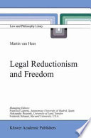 Legal Reductionism and Freedom Pdf/ePub eBook