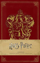 Harry Potter  Gryffindor Ruled Pocket Journal