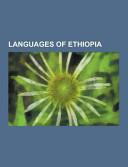 Languages of Ethiopia