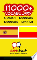 11000  Spanish   Kannada Kannada   Spanish Vocabulary