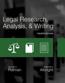 Legal Research  Analysis  and Writing  Loose Leaf Version