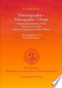 Historiographie   Ethnographie   Utopie