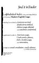 download ebook a dictionary of modern english usage pdf epub
