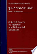 Selected Papers on Analysis and Differential Equations