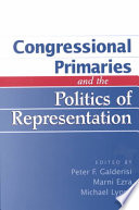 Congressional Primaries and the Politics of Representation