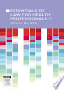 Essentials of Law for Health Professionals