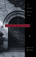 Publish And Perish book