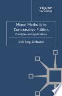 Mixed Methods in Comparative Politics