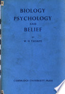 Biology Psychology And Belief