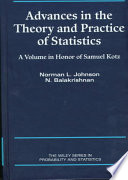 Advances in the Theory and Practice of Statistics