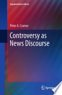 Controversy as News Discourse