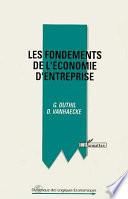 illustration du livre Les fondements de l'économie d'entreprise