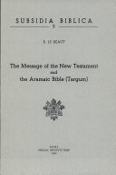 download ebook the message of the new testament and the aramaic bible pdf epub