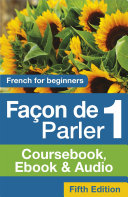 Facon de Parler 1 French for Beginners 5ED