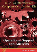ITIL V3 Operational Support and Analysis  OSA  Full Certification Online Learning and Study Book Course