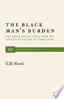 The Black Man s Burden