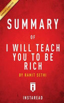 Summary of I Will Teach You to Be Rich