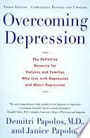 Overcoming Depression  3rd edition