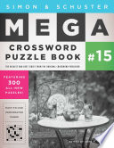 Simon Schuster Mega Crossword Puzzle Book 15