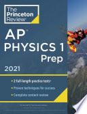Princeton Review Ap Physics 1 Prep 2021
