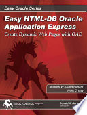 Easy HTML DB Oracle Application Express