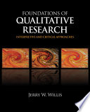 Foundations of Qualitative Research