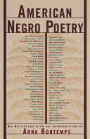 American Negro Poetry