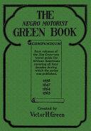 Book The Negro Motorist Green Book Compendium