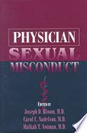 Physician Sexual Misconduct